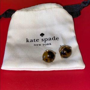Kate Spade Tortoise Shell Earrings
